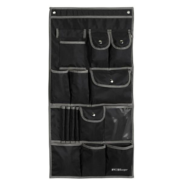 Berger Milo Vario sac de suspension noir noir, gris