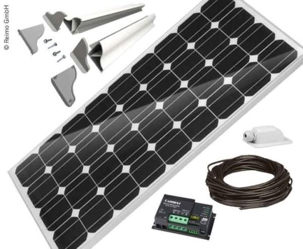 Solaranlage Carbest 1x100 Watt CB-100B Set