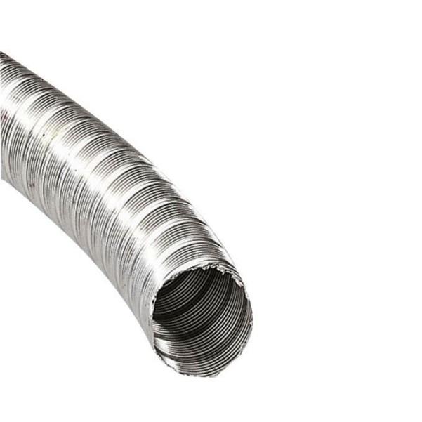 Tuyau d'échappement en acier inoxydable Ø 50 mm 20 m