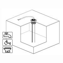 MT Electrode de réservoir Hauteur du réservoir 20-50 cm