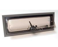 Fenêtre à charnière en aluminium 460x160mm modèle 2000