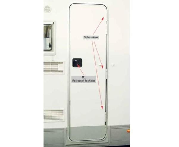 Carav.Tür weiß,1700x525M1