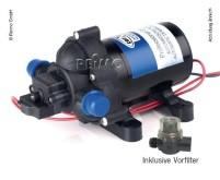 Wasserpumpe 12V, 10l/min, 2,8bar, 3,5A