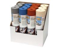 Jeu de tapis antidérapants 30x360cm,gris, noir, beige, bleu 12pcs en boîte