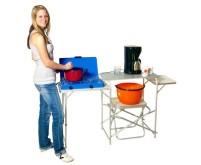 Cuisine de camping Max Easy Aluminium, sans coupe-vent et sacs en textile