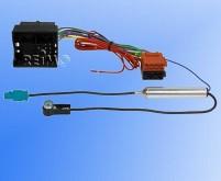 Radioadapterkabel VWT5,Most auf ISO+Phantomeinspei sung Fakra ISO