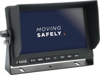 "LUIS 7""-Rückfahrsystem Professional schwarz"