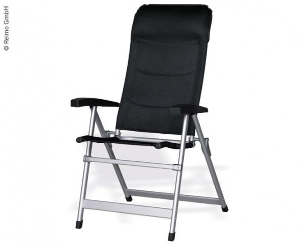 Chaise de camping CRUISER, DuraDore 2D, ergonomique, sc hmal pliable
