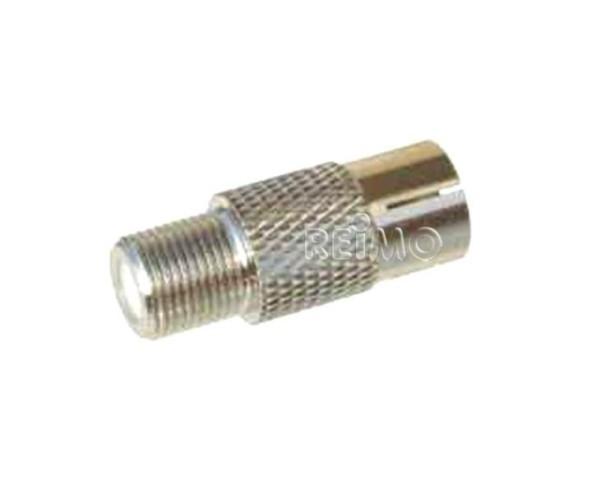 Adapter F-Stecker/IEC-Buchse lose