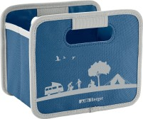 Berger Faltbox Mini blau blau, grau
