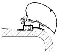 Thule Adapter-Set für Ducato/Jumper/Boxer