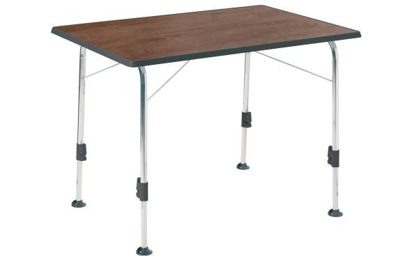 Table pliante Dukdalf Stabilic III aspect bois 115 x 70 cm