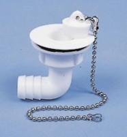 """Wasserablaufgarnitur 90° Schlauch 3/4"""", Ablauföffn ung 23 mm, Typ B"""