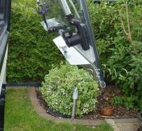 Profilé de sécurité pour fenêtre Seitz S6 DeLux de 800 mm