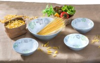 Brunner Salad & Pasta Melamine Bowl Set 5pcs.