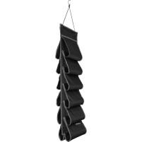Berger Milo sac de suspension pour chaussures noir noir, gris