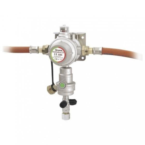 Régulateur de pression de gaz Truma DuoControl CS