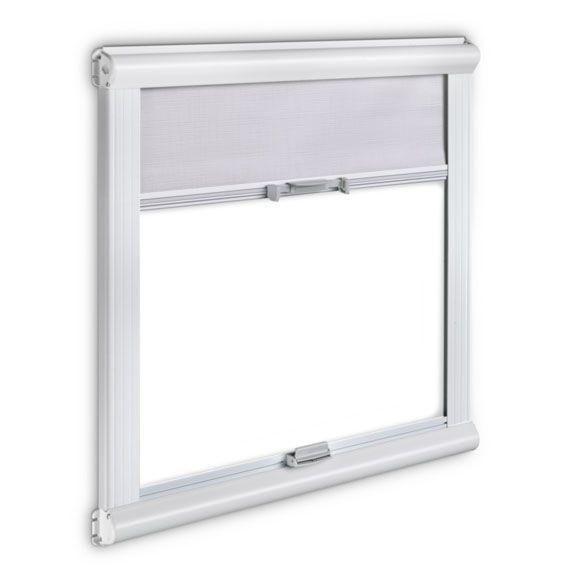 Dometic Mini store à double cassette 123x70 gris, blanc | 123 x 70 cm