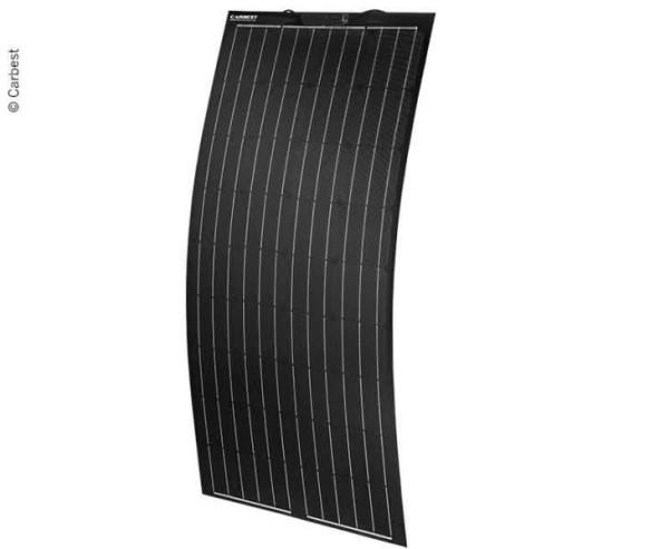 Flexibles Solarpanel 150W, 1500x670x3,5mm, Kabel 0 ,9m, TPT+Fiberglas