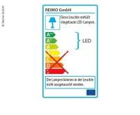 LED 12V Leuchte 60+12LED, 215x145x25mm, 3-Pos-Scha lter