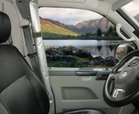 VWT5 Fahrerhaus Seitenfenstergardinen Set passend  zu REMIfront IV
