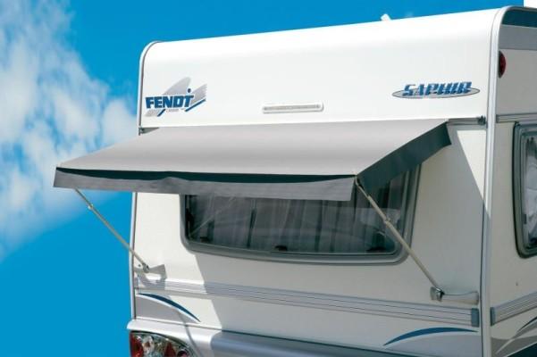 Caravan Fenstermarkise Airtex 80x 120cm, grau