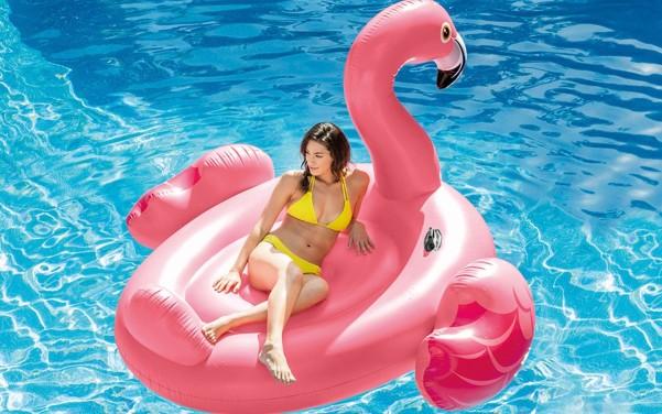 Intex Badeinsel Mega Flamingo