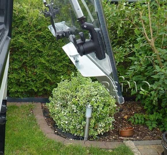 Profilé de sécurité pour fenêtre Seitz S6 DeLux de 350 mm
