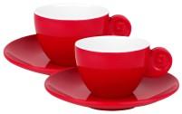 Gimex Espressotassen 2er Set Rot