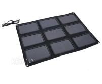 Faltbares Solarpanel 50W 96x68x0,8cm  9 Zellen