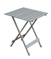 Table pliante simple 50x50x64 cm, aluminium