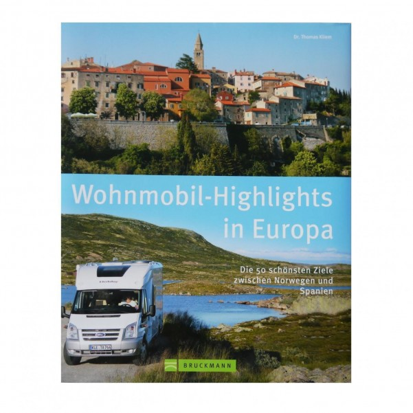 Buch Wohnmobil Highlights Europa