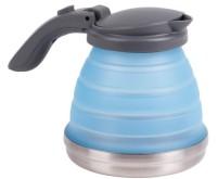 Bouilloire en silicone, pliable, capacité approx.0,8l, bleu u