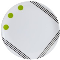 Berger Dots Melamin Dessertteller Grün