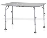 Table de camping Extender, 120x80cm, aluminium, chargeable jusqu'à 30 kg