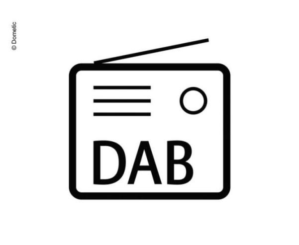 Kit de mise à niveau DAB+ de Dometic PerfectView