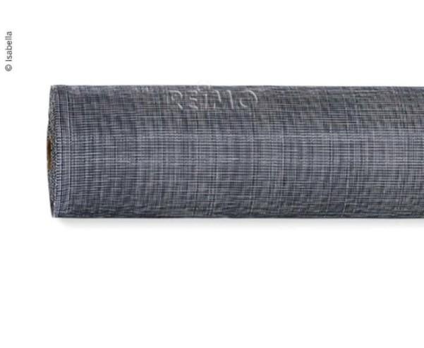 Tapis de tente Regular Idun rouleau de 50m, L 2,5m, bleu foncé