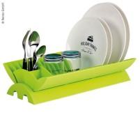 Séchoir à vaisselle 41x25x9cm, lime, petit pliable, P ackmass