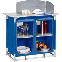 Berger Küchenbox 4 Fächer blau blau, grau