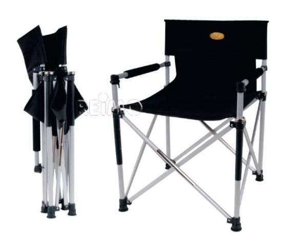Faltstuhl Director's Chair Toscana Luxus schwarz