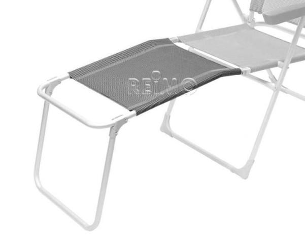 Fussstütze Malaga Compact schwarz/silber belastbar 30kg