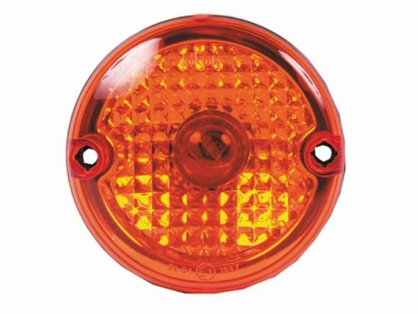 Optique du feu arrière et du feu stop en verre transparent
