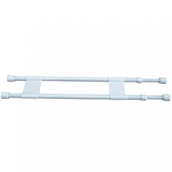 Barres de maintien doubles 40,5 - 71 cm