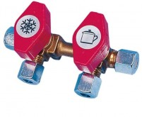 Bloc de vannes à gaz VK2, entrée 8 mm