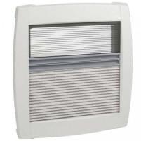 MPK cadre intérieur double plissé 40 x 40 cm   sans LED