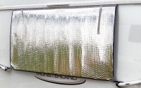 Tapis thermique Hindermann pour fenêtre de caravane 180 x 80 cm 180 x 80 cm
