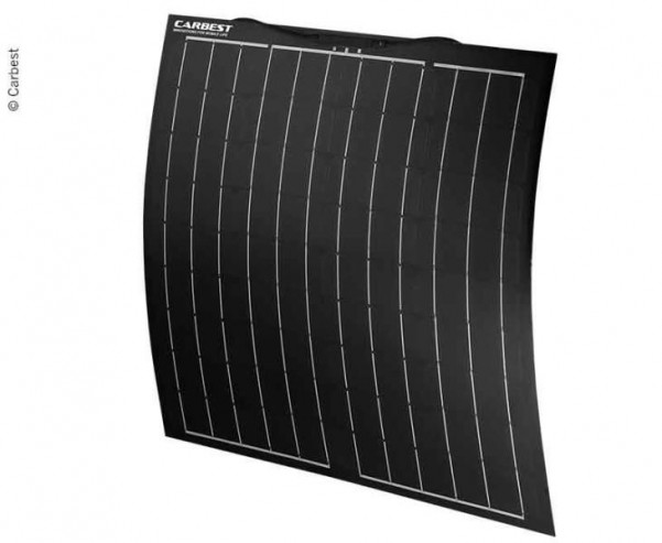 Flexibles Solarpanel 80W, 800x670x3,5mm, Kabel 0,9 m, TPT+Fiberglas