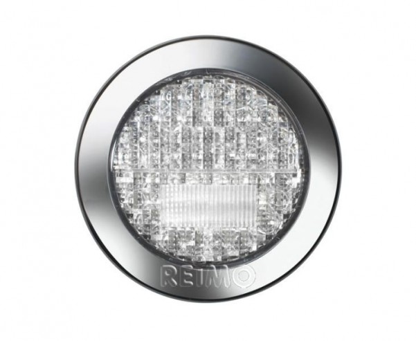 LED-Nebel/Rückfahrleuchte 12V, 3/4W klar IP67 500 mm Kabel