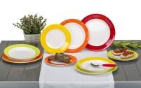 Gimex Rainbow Melamine Tableware Set 12 pcs.
