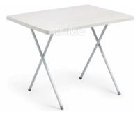 Table de camping Eva 80x60x62/50cm, cadre en acier 19x0, 7mm Camp4